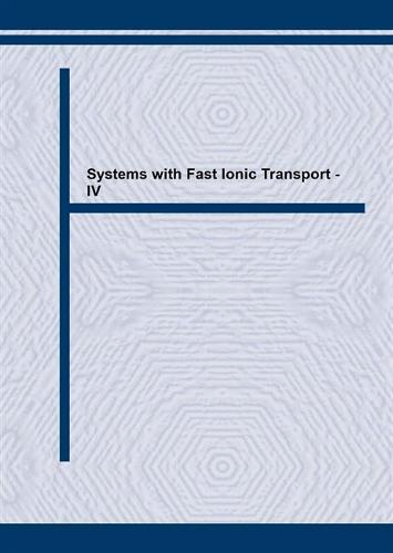 Systems with Fast Ionic Transport: Proceedings of the Fourth International Symposium on Systems with Fast Ionic Transport, Warsaw, Poland, May 10-14, 1994 4th - Solid State Phenomena Vols 39-40 (Paperback)