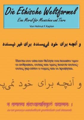 Die Ethische Weltformel (Paperback)