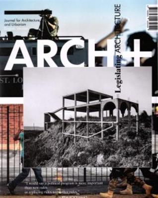 Arch+ 50 - Legislating Architecture (Paperback)