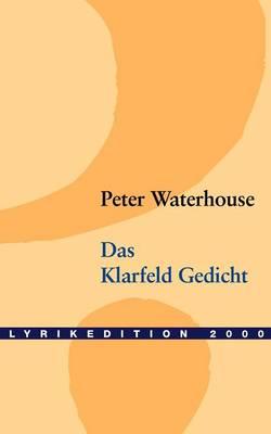 Das Klarfeld Gedicht (Paperback)