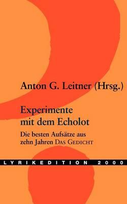 Experimente Mit Dem Echolot (Paperback)