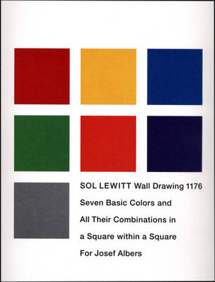 Sol Lewitt: Seven Basic Colours and All Their Combinations in a Square within a Square (Paperback)