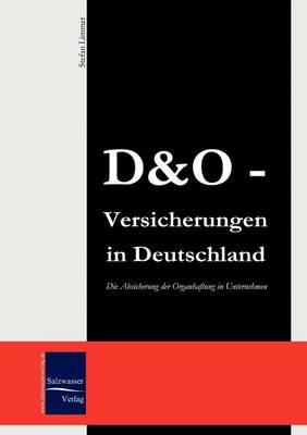 D&o-Versicherungen (Paperback)