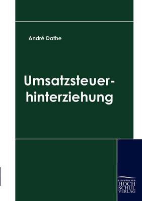 Umsatzsteuerhinterziehung (Paperback)
