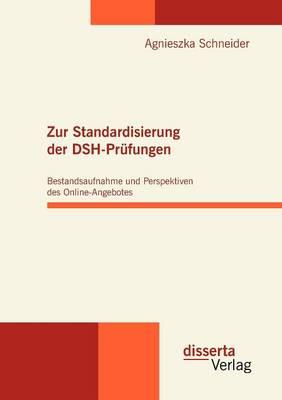 Zur Standardisierung Der Dsh-Pr fungen: Bestandsaufnahme Und Perspektiven Des Online-Angebotes (Paperback)