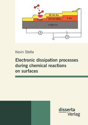 Electronic Dissipation Processes During Chemical Reactions on Surfaces (Paperback)
