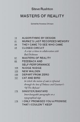 Steve Rushton - Masters of Reality (Hardback)