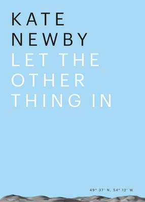 Kate Newby - Let the Other Thing in (Paperback)