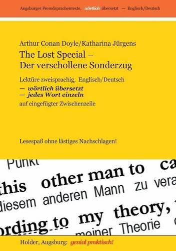 The Lost Special / Der Verschollene Sonderzug (Paperback)
