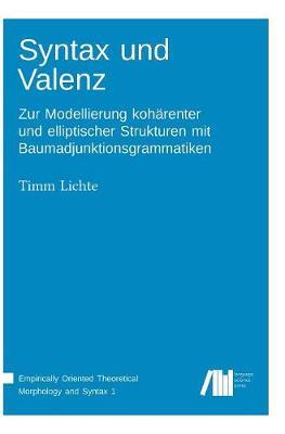 Syntax Und Valenz (Hardback)