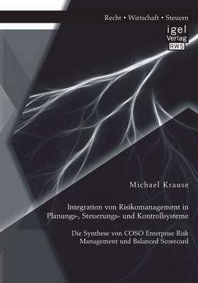 Integration Von Risikomanagement in Planungs-, Steuerungs- Und Kontrollsysteme: Die Synthese Von Coso Enterprise Risk Management Und Balanced Scorecard (Paperback)