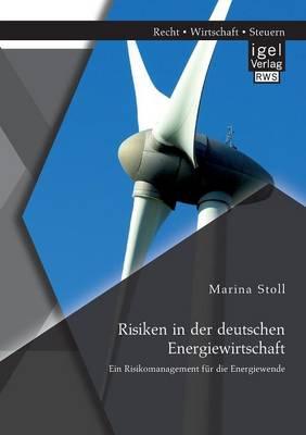 Risiken in Der Deutschen Energiewirtschaft. Ein Risikomanagement Fur Die Energiewende (Paperback)