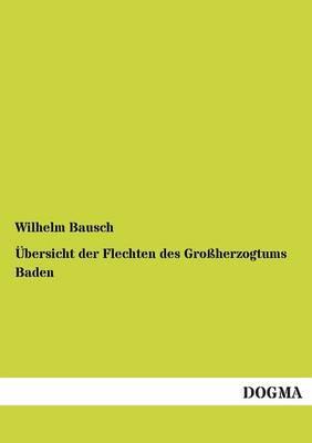 Ubersicht Der Flechten Des Grossherzogtums Baden (Paperback)
