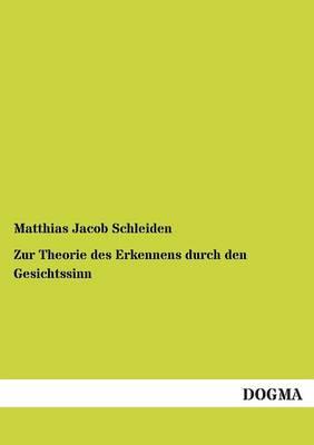 Zur Theorie Des Erkennens Durch Den Gesichtssinn (Paperback)