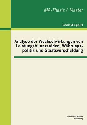 Analyse Der Wechselwirkungen Von Leistungsbilanzsalden, Wahrungspolitik Und Staatsverschuldung (Paperback)