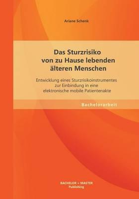 Das Sturzrisiko Von Zu Hause Lebenden Alteren Menschen: Entwicklung Eines Sturzrisikoinstrumentes Zur Einbindung in Eine Elektronische Mobile Patientenakte (Paperback)