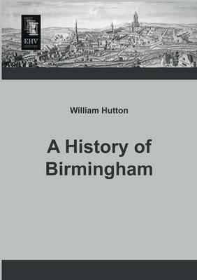 A History of Birmingham (Paperback)