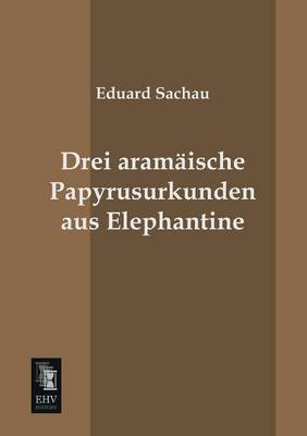 Drei Aramaische Papyrusurkunden Aus Elephantine (Paperback)