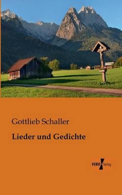 Lieder Und Gedichte (Paperback)