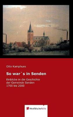 So War's in Senden (Hardback)