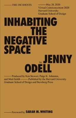 Inhabiting the Negative Space - Sternberg Press / The Incidents (Paperback)