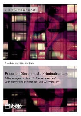 Friedrich Durrenmatts Kriminalromane (Paperback)