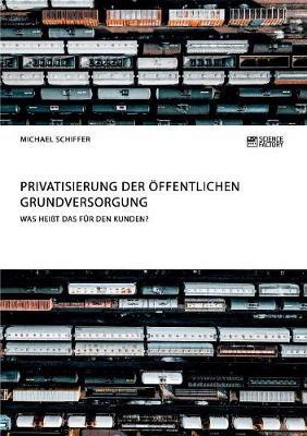 Privatisierung Der ffentlichen Grundversorgung. Was Hei t Das F r Den Kunden? (Paperback)