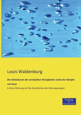 Die Inhalationen Der Zerstaubten Flussigkeiten Sowie Der Dampfe Und Gase (Paperback)