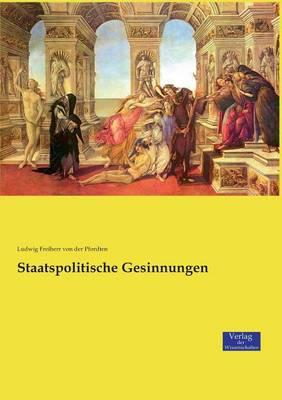 Staatspolitische Gesinnungen (Paperback)