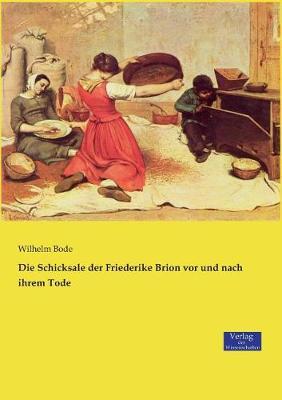 Die Schicksale Der Friederike Brion VOR Und Nach Ihrem Tode (Paperback)