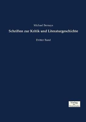 Schriften Zur Kritik Und Literaturgeschichte (Paperback)