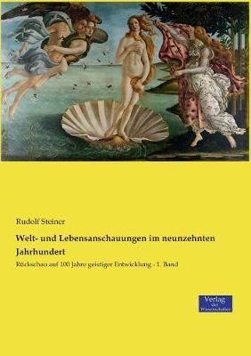 Welt- Und Lebensanschauungen Im Neunzehnten Jahrhundert (Paperback)