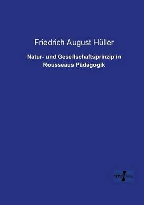 Natur- Und Gesellschaftsprinzip in Rousseaus Padagogik (Paperback)