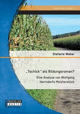 """Tschick"""" ALS Bildungsroman? Eine Analyse Von Wolfgang Herrndorfs Meisterstuck (Paperback)"""