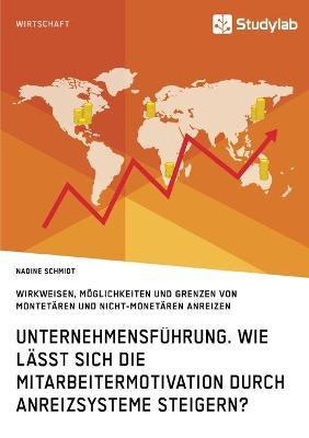 Unternehmensfuhrung. Wie Lasst Sich Die Mitarbeitermotivation Durch Anreizsysteme Steigern? (Paperback)