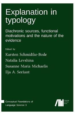 Explanation in Typology (Hardback)