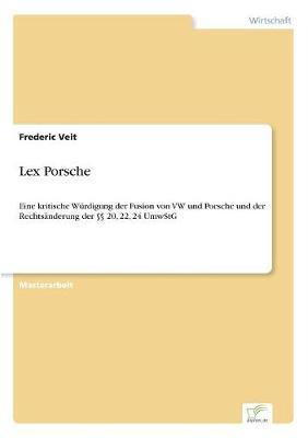 Lex Porsche (Paperback)