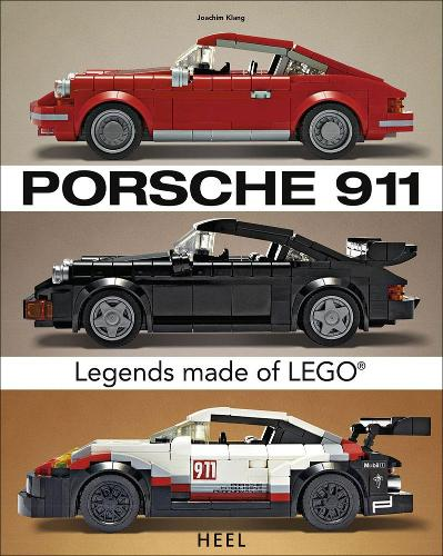 Porsche 911: Iconic Vehicles Made From LEGO (R) Bricks (Paperback)