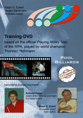 PAT Training: For Advanced and Upper League Players Level 2: Based on the Official Playing Ability Test of the WPA, Played by World Champion Thorsten Hohmann (DVD)