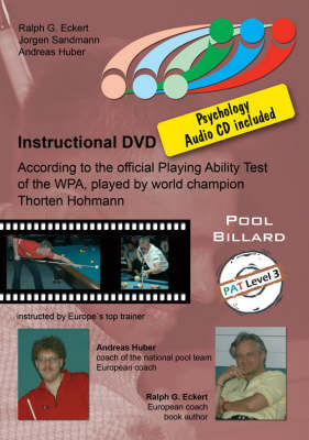PAT Training: For Expert Players Level 3: Based on the Official Playing Ability Test of the WPA, Played by World Champion Thorsten Hohmann