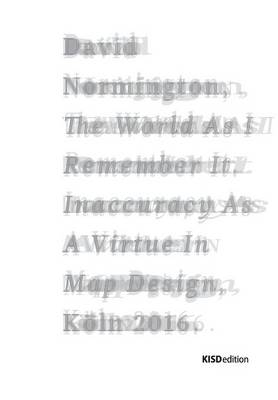 The World as I Remem-Ber It (Paperback)