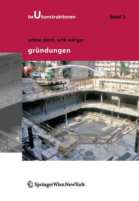 Grundungen - Baukonstruktionen 3 (Hardback)