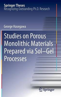 Studies on Porous Monolithic Materials Prepared via Sol-Gel Processes - Springer Theses (Hardback)