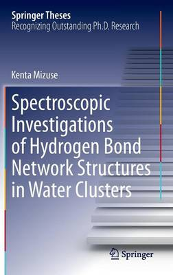 Spectroscopic Investigations of Hydrogen Bond Network Structures in Water Clusters - Springer Theses (Hardback)