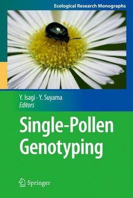 Single-Pollen Genotyping - Ecological Research Monographs (Paperback)