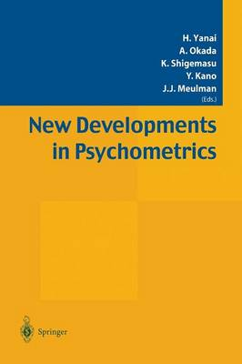 New Developments in Psychometrics: Proceedings of the International Meeting of the Psychometric Society IMPS2001. Osaka, Japan, July 15-19, 2001 (Paperback)