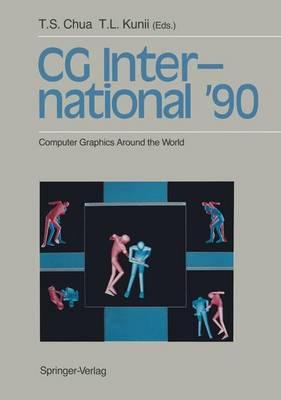 CG International '90: Computer Graphics Around the World (Hardback)