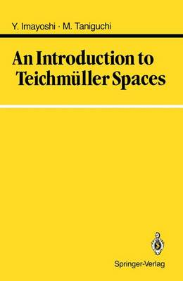 An Introduction to Teichmuller Spaces (Hardback)
