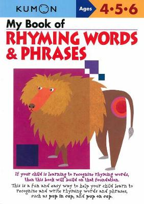 My Book Of Rhyming Words And Phrases (Paperback)