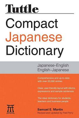 Tuttle Compact Japanese Dictionary (Paperback)